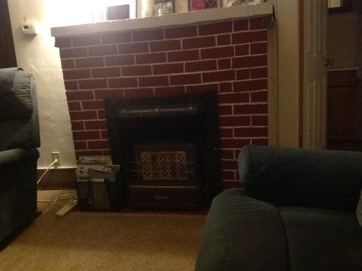 q fireplace makeover, fireplaces mantels
