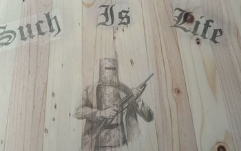 image transfer onto wooden chest do s dont s, painted furniture, Ink smudges from rubbing off paper