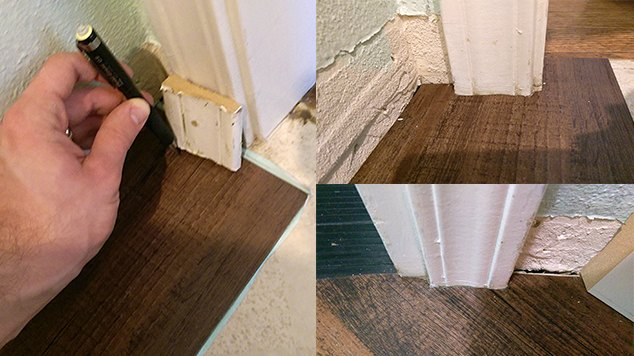 transform your laundry room floor with faux wood vinyl flooring, flooring, laundry rooms