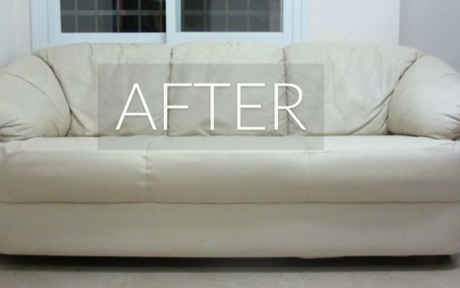 s hide your couch s wear and tear with these 9 ingenious ideas, painted furniture, After New and Improved