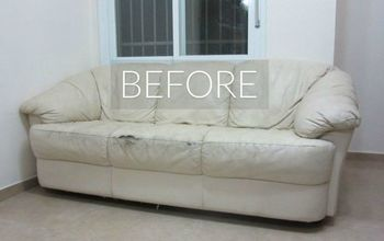 s hide your couch s wear and tear with these 9 ingenious ideas, painted furniture
