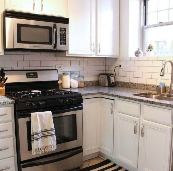 s 13 kitchen upgrades that make your home worth more, home decor, kitchen design, Replace your dingy backsplash