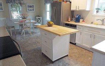 How to Make a Kitchen Island From Old Cabinets