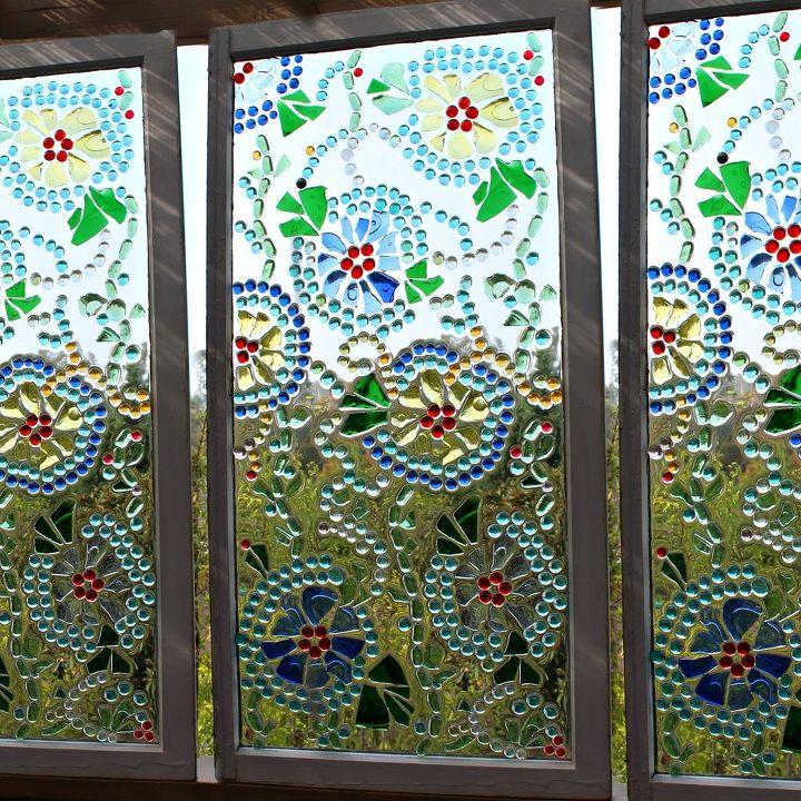 easy stained glass window hometalk
