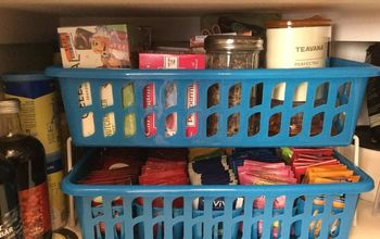 organize your travel cups and tea drink mixes, organizing