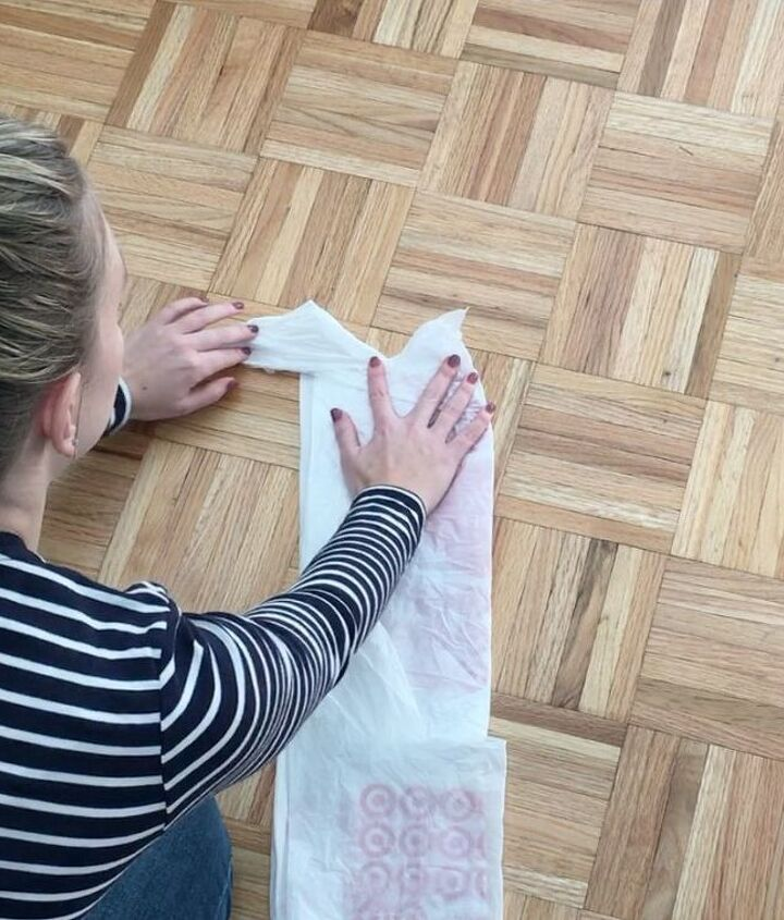 how to roll plastic shopping bags, how to