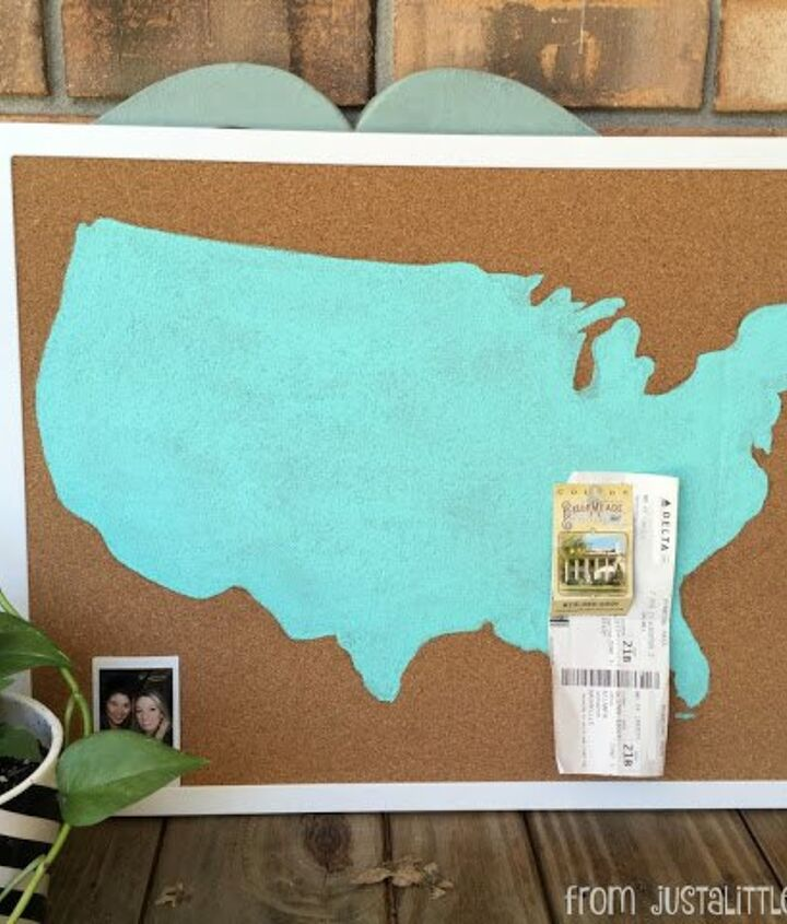 how to make your own travel memory board, how to
