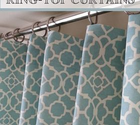 Hide The Clip Ring Top Curtains, Home Decor, Window Treatments