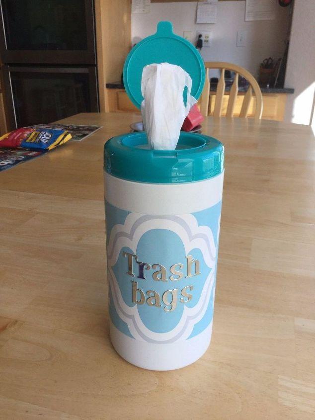 Brand-new Trash Bag Storage Dispenser/Container | Hometalk DL52