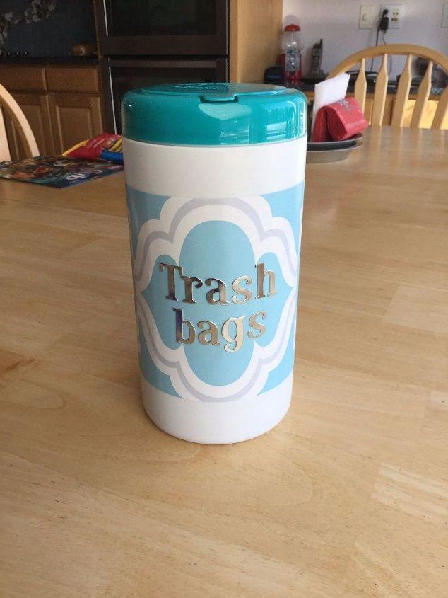 Brand-new Trash Bag Storage Dispenser/Container | Hometalk SM82