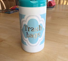 trash bag storage container storage ideas & Trash Bag Storage Dispenser/Container | Hometalk