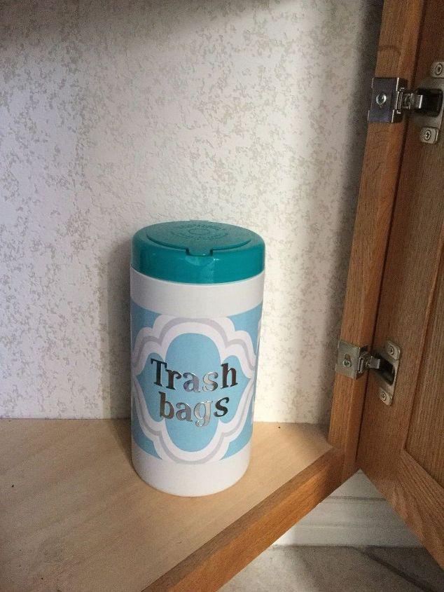 Favorite Trash Bag Storage Dispenser/Container | Hometalk YR98