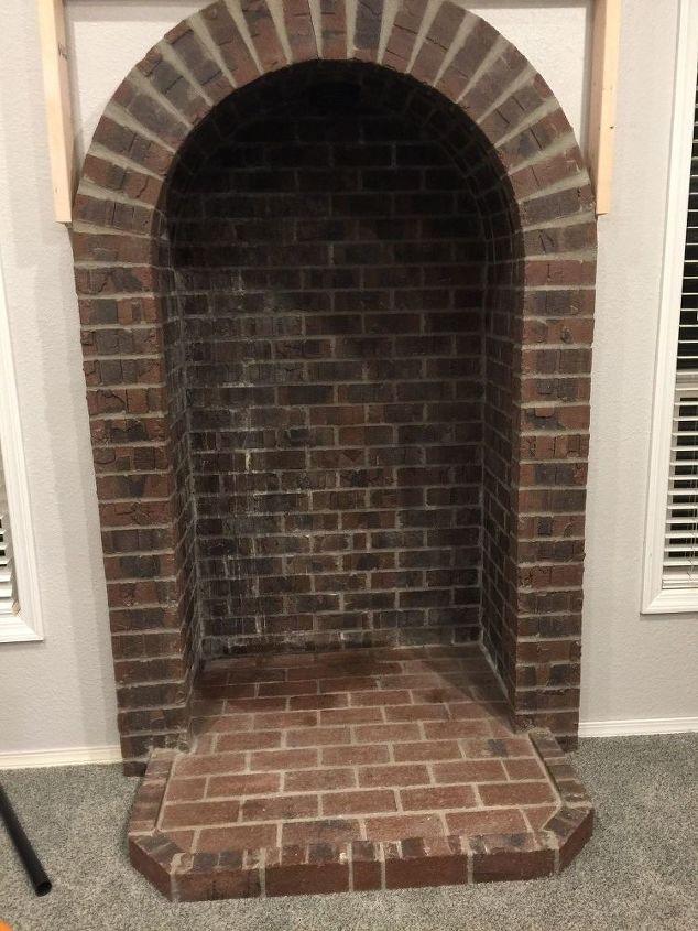 Ugly Fireplace Makeover Hometalk