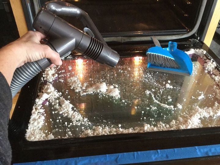 how to clean an oven window, appliances, cleaning tips, how to