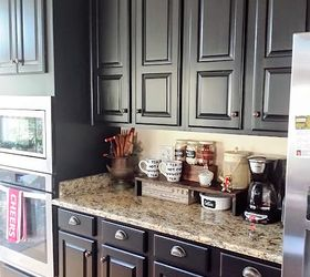 black kitchen cabinets makeover reveal kitchen cabinets kitchen design & Black Kitchen Cabinets Makeover Reveal | Hometalk