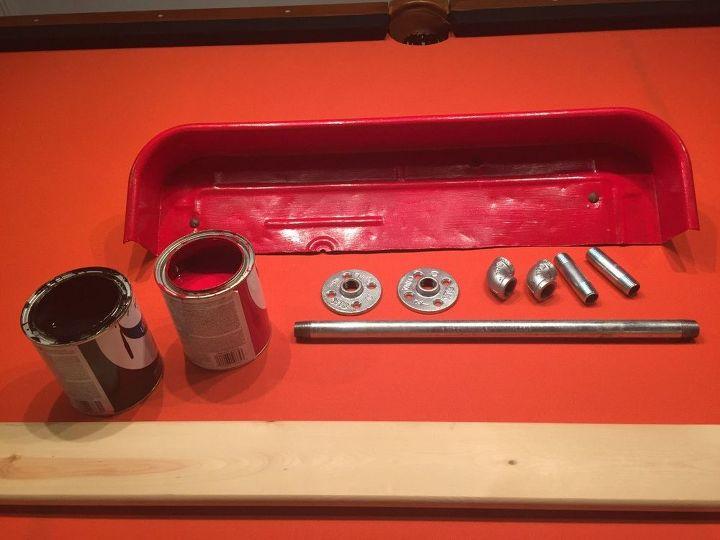 rusty wagon to rustic shelf, shelving ideas