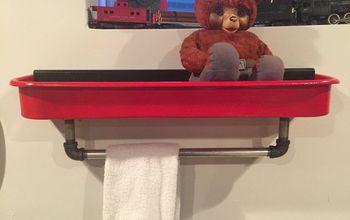 Rusty Wagon to Rustic Shelf