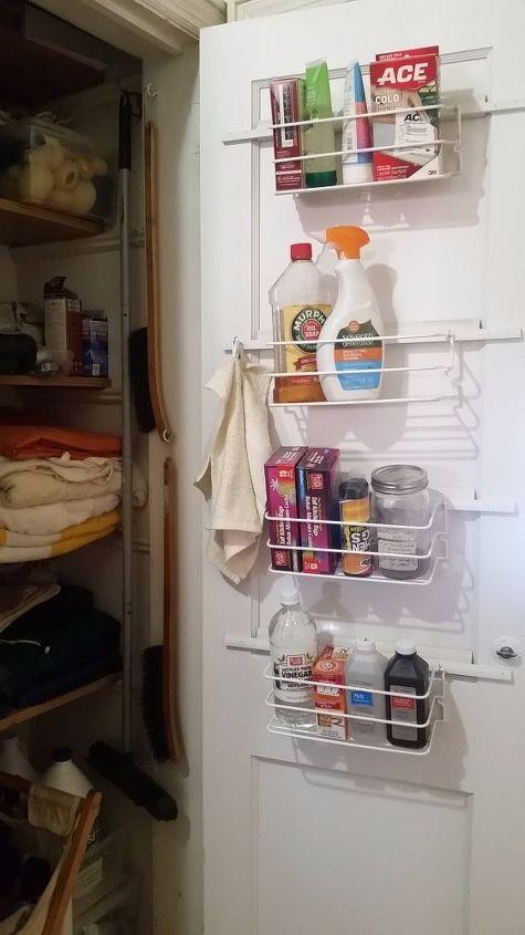 DIY Cleaning Cabinet Storage | Hometalk