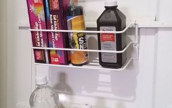 DIY Cleaning Cabinet Storage
