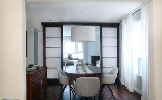 dining room transformation removing an interior wall