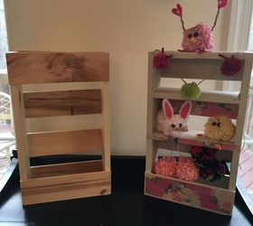 beaucoup paint storage from a hobby lobby small natural wood pallet pallet storage ideas & $12 Paint Storage From a Hobby Lobby Small Natural Wood Pallet ...