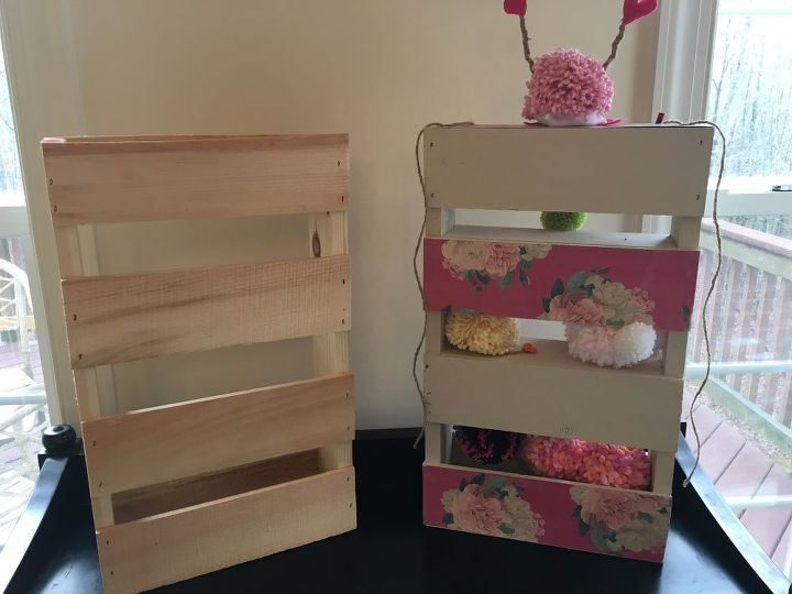 12 Paint Storage From A Hobby Lobby Small Natural Wood