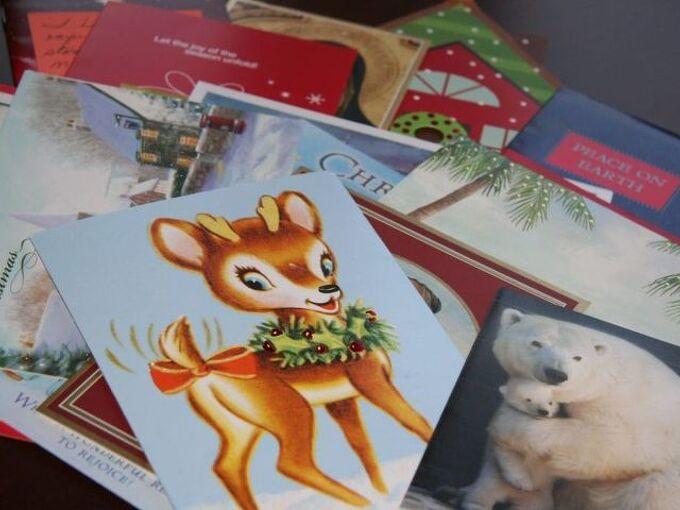 do you save your christmas cards