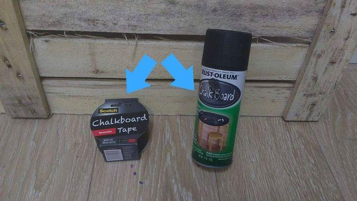 r reveiw chalkboard paint vs chalkboard tape, chalkboard paint, crafts