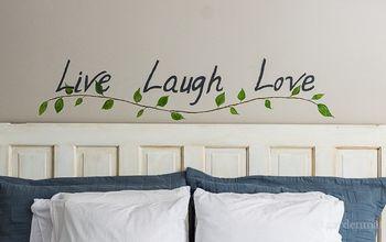 bedroom makeover diy wall art, bedroom ideas, crafts