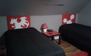 diy pokemon lighted headboard canvas picture