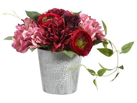 e afloral com is giving a gorgeous pre made flower arrangement, gardening