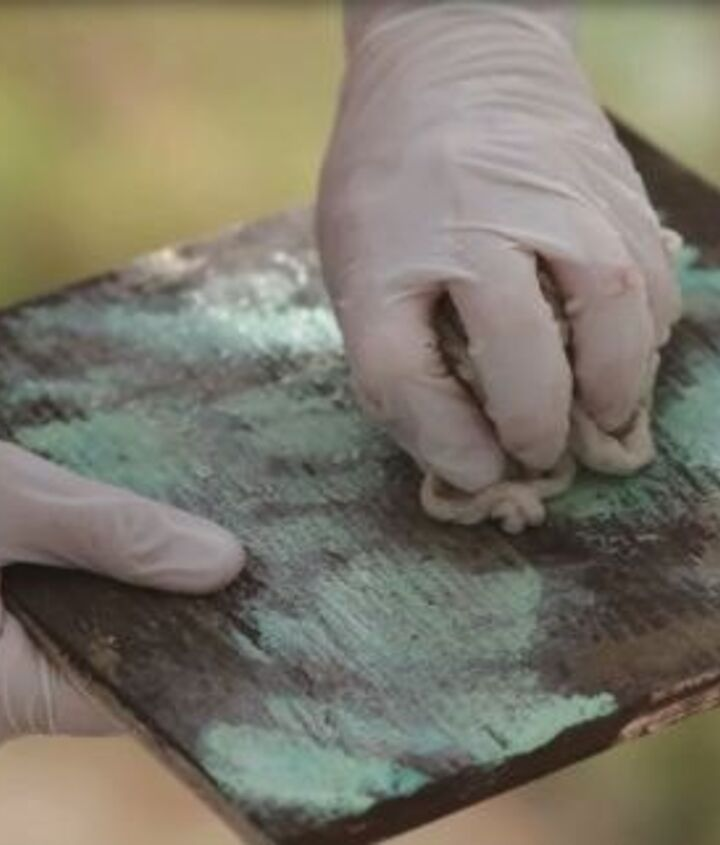 how to create a faux oxidized copper finish, how to