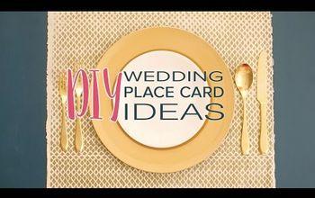 diy place card ideas