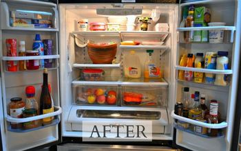 how to clean your fridge the easy way, appliances, cleaning tips, how to