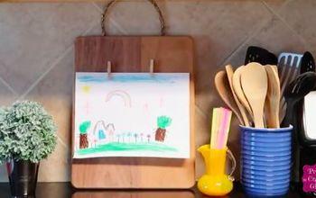 diy wooden clipboard