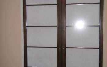 shoji screen sliding doors getting the look without using glass, doors