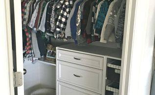 an organized toddler closet, closet, organizing