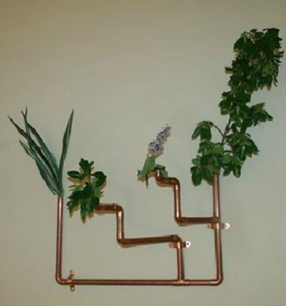 These 11 copper pipe ideas will make you rethink your for Home decoration items making
