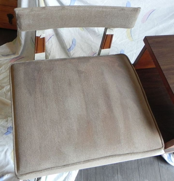 t how i failed a paint job on a fabric cushion and survived, reupholster