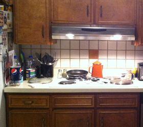 Cheap Way To Cover Ur Ugly Kitchen Backsplash Tile, Kitchen Backsplash,  Kitchen Design,