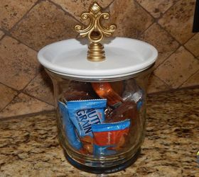Diy Bathroom Canisters And Jewelry Holder Set Hometalk