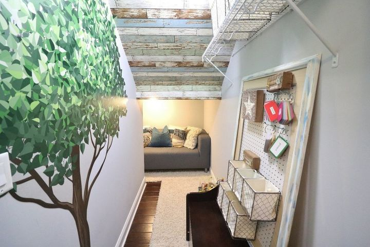 closet turned into treehouse playroom, closet, entertainment rec rooms, outdoor living