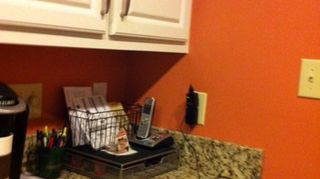 , Another after picture Once the cabinets were done we painted the walls