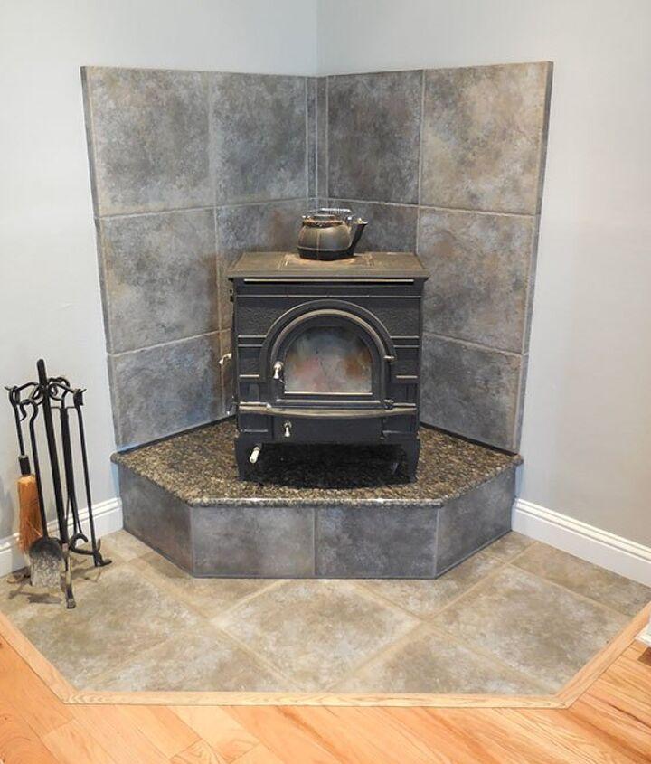 Corner Fireplace Mantel Makeover Hometalk