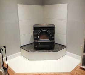 corner fireplace mantel makeover fireplaces mantels