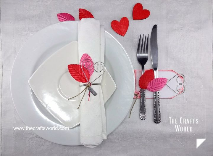 valentine s day table decoration, painted furniture, seasonal holiday decor, valentines day ideas