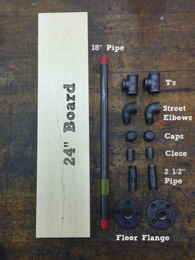 Materials to build Shelf