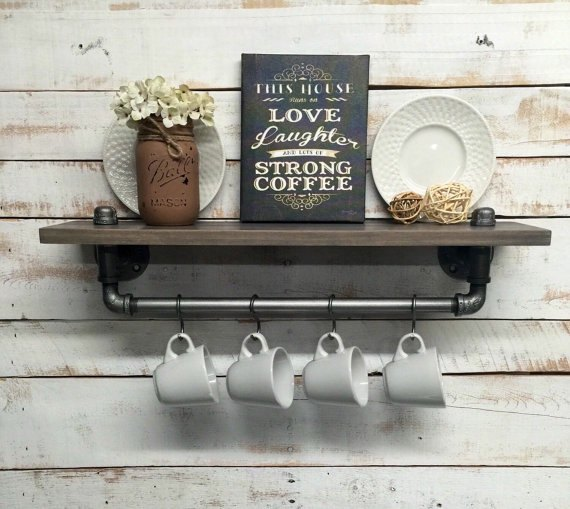 Rustic Farmhouse Shelf