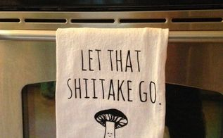 how to screen print fun dish towels, bathroom ideas, how to