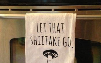 How To Screen Print Fun Dish Towels